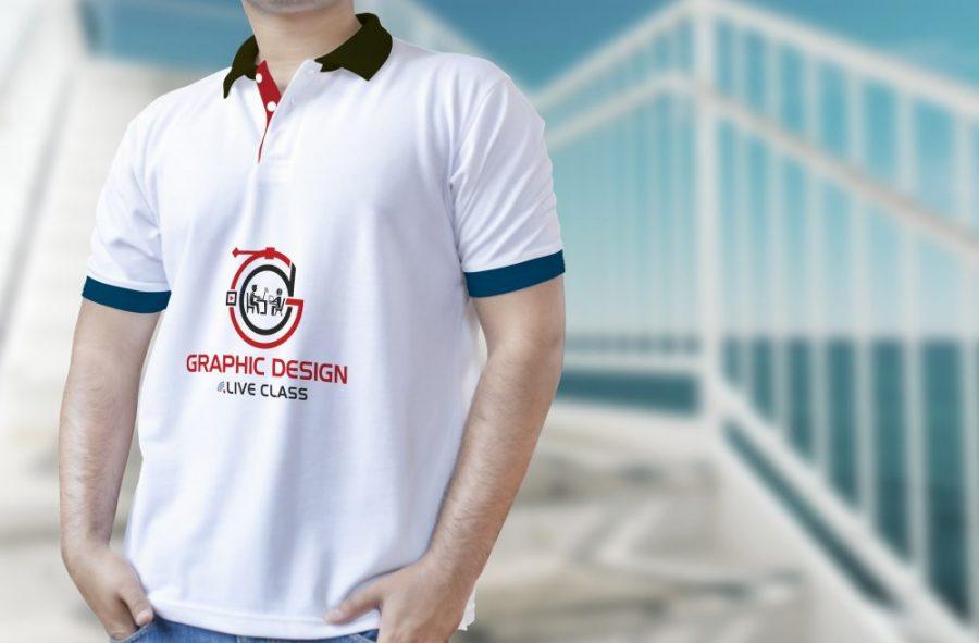 Premium Logo & T-Shirts Mockup